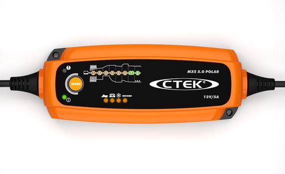 Batteriladdare Polar MXS 5.0 - 12 volt
