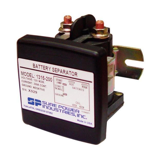 Batteriseparator 12V 200A