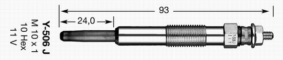 Glödstift Y506J