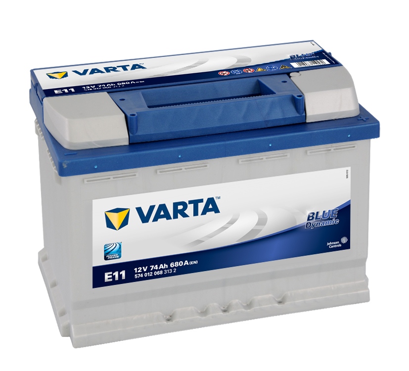 Bilbatteri Blue Dynamic E11 - 74Ah