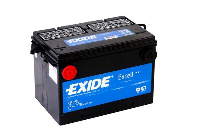 Exide Batteri USA EB 758 75Ah