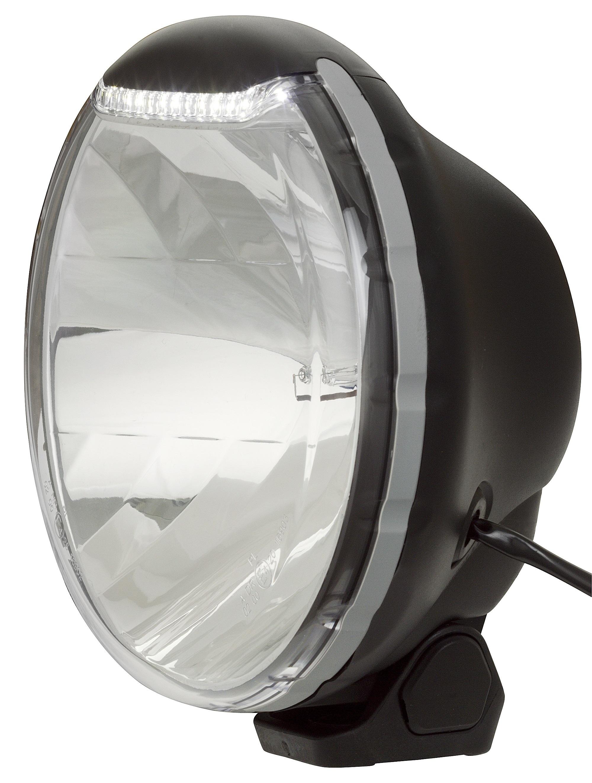 Extraljus Alpha 225 HID Xenon 12V - Fjärr med LED