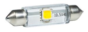 LED-lampa 12V 10.5x43 1watt