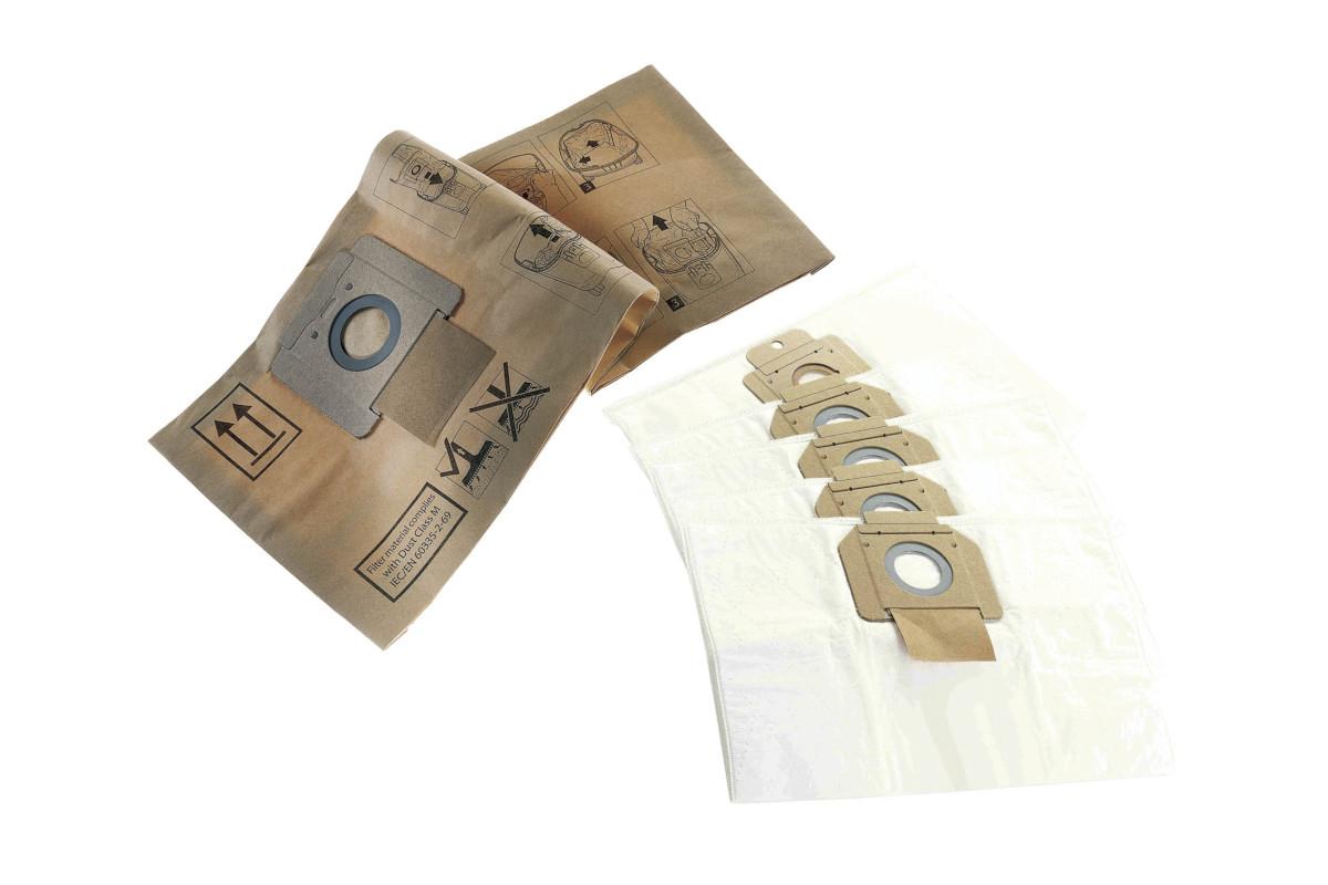Fleece filterpåse, 5 pack