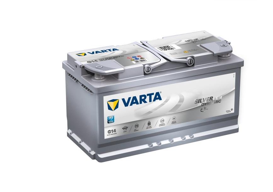 Batteri G14 Silver Dynamic AGM - 95Ah