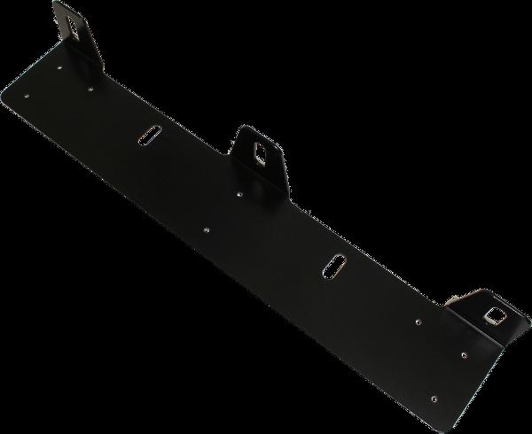 Extraljushållare för 3x ljus - Svart
