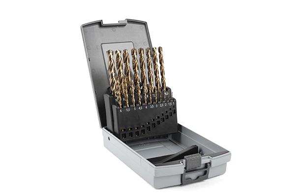 Borrkassett kobolt 1-10mm
