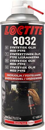 Syntetisk olja med PTFE Spray 8032 400ml