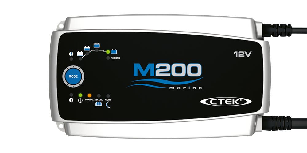 Batteriladdare Marin M200 - 12 volt