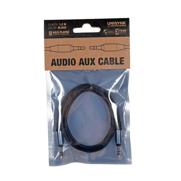 AUX kabel 3,5mm 1,2m