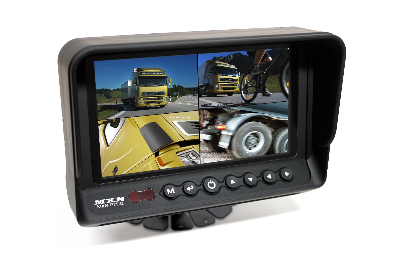 """Backkamerasystem Digital LCD/TFT 7"""" 12/24"""