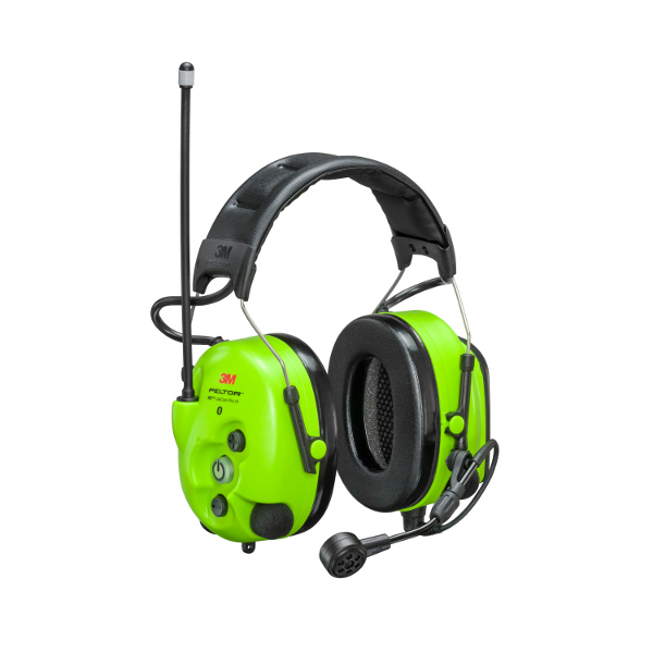 Headset WS LiteCom III Hi-Viz, hjässbygel
