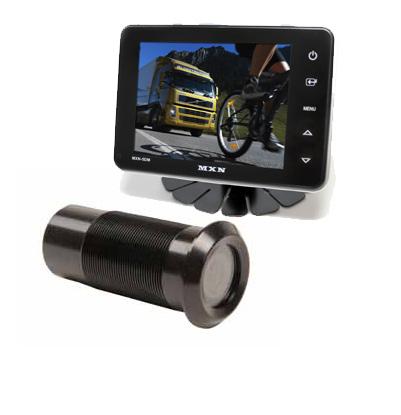 """Backkamerasystem 5"""" med stötfångarkamera"""