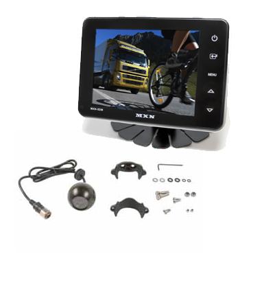 Backkamerasystem med Sido/Backkamera färg IR