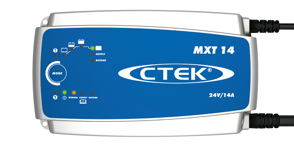 Batteriladdare MXT 14 - 24 Volt