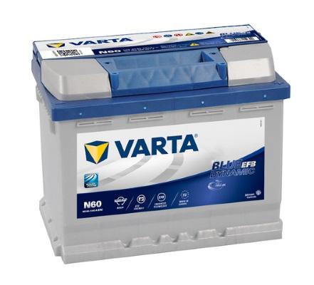 Batteri N60 Blue Dynamic EFB - 60Ah