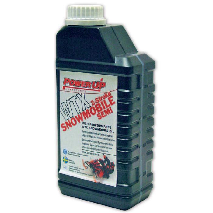 Semisyntetisk olja för snöskoter  WTX Stroke - 1 l
