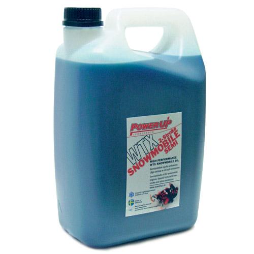 Semisyntetisk olja för snöskoter  WTX Stroke - 5 l
