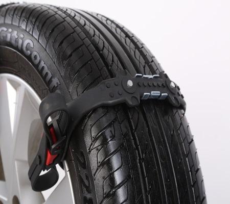 Safegrip broddar till hjulen