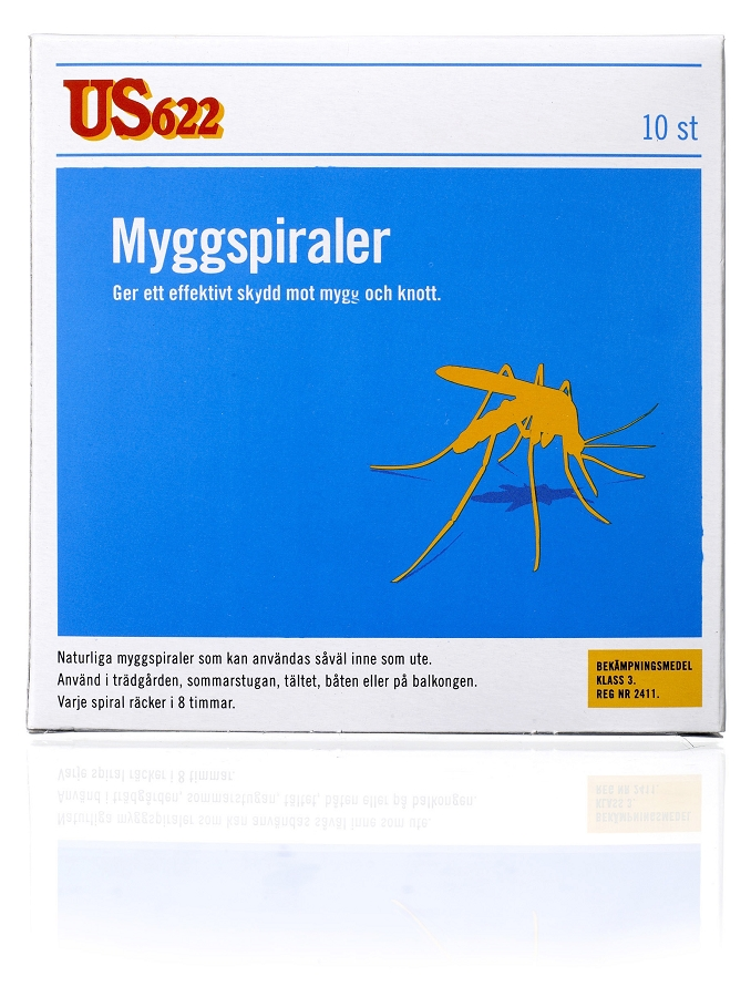 Myggspiral US622 10pack - Utgått