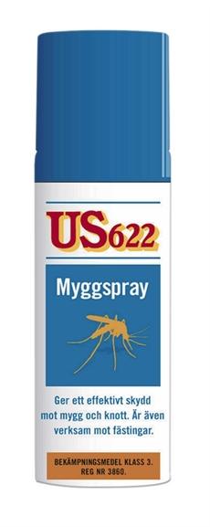 Myggspray US622 60ml
