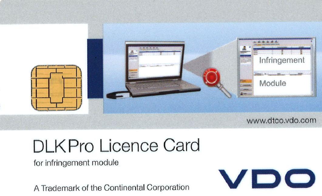 DLKPro Licenskort