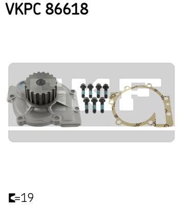 Vattenpump VKPC86618