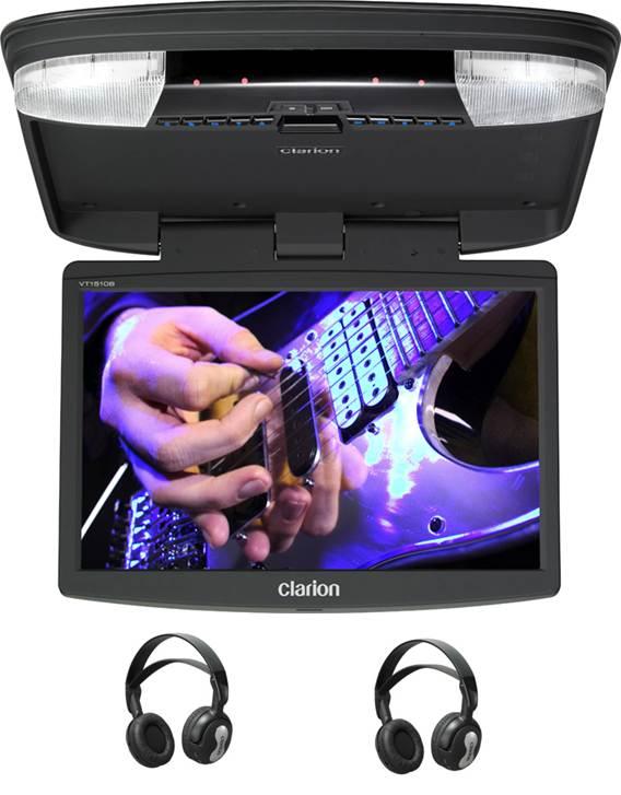"""Takskärm 15.6"""" DVD/USB/SD"""
